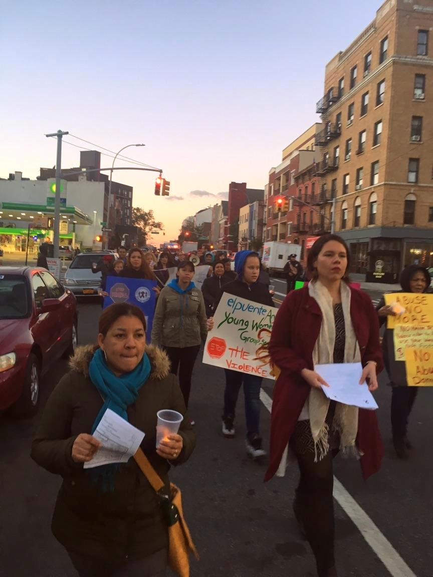 Marching 10 25 Vigil